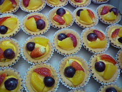 Fruit Tart(wth kastad and coklat)