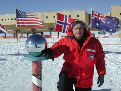 Jake at the South Pole 2001