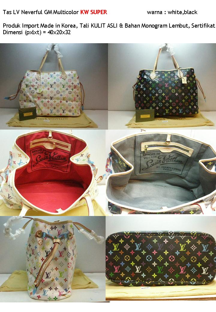 LV Neverful GM Multicolor