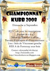 Championnat d'automne de Kubb - Dimanche 21 Septembre 2008