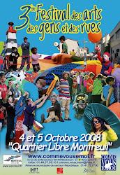 Quartier Libre - Montreuil sous Bois - 04 & 05 Octobre 2008