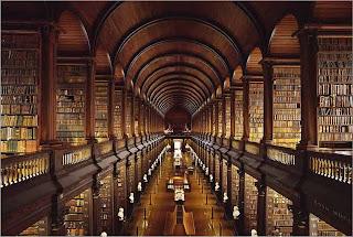 Biblioteca del Trinity College.Dublín