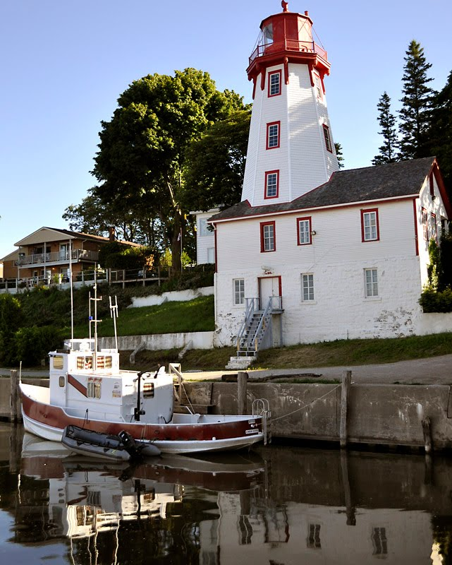 Kincardine (ON) Canada  city pictures gallery : Tomatoes From Canada: Kincardine lighthouse