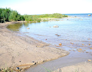 We became quite familiar with the changes in the beaches south of Kincardine . (grassy cove kincadine)