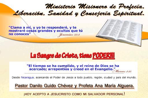 Ministerio Misionero de Profecía, Liberación, Sanidad y Consejería Espiritual.