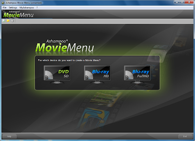 Free License Key and Serial Number Ashampoo Movie Menu 1.0.1.49