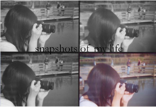 snapshots of my life