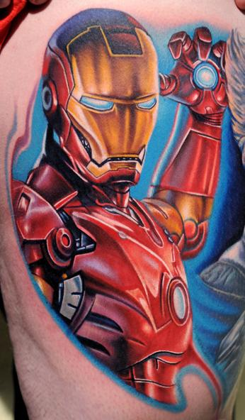 comic tattoos. Comic Tattoos Part 2