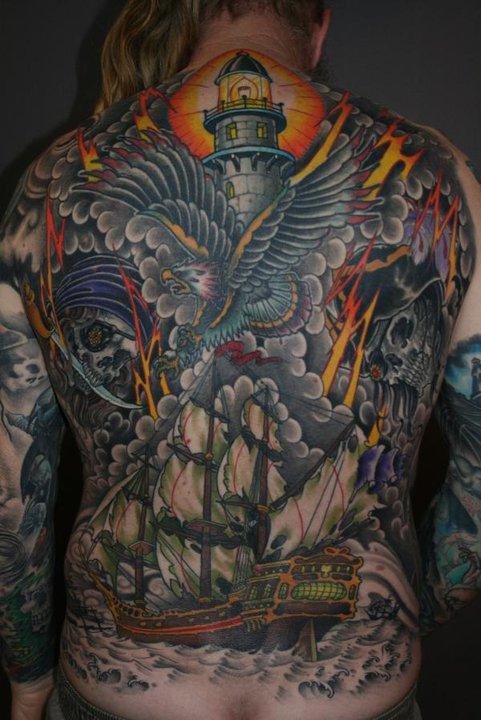 Full Back Tattoos