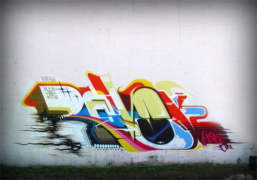Great Job Aaron Msk Graffiti In Miami