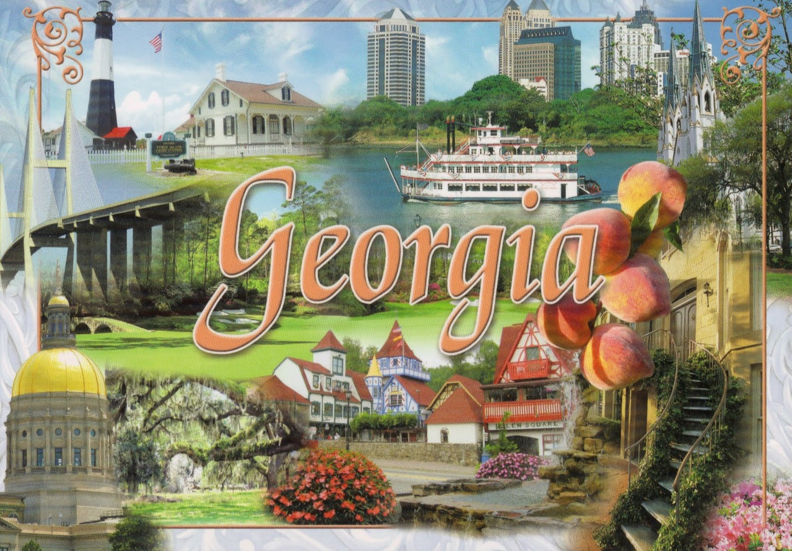 Postcard Anthology Georgia Postcards