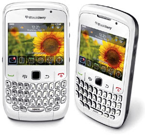 BlackBerry White Gemini