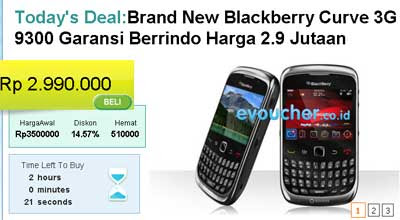 New Blackberry Gemini Curve 3G 9300