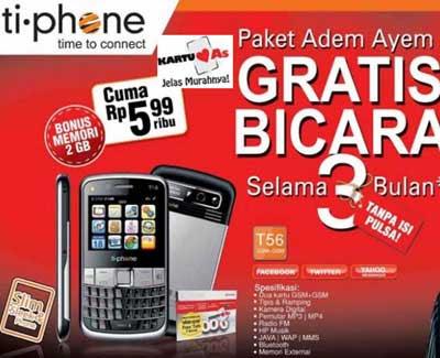 Ti-Phone T56 Harga dan Spesifikasi