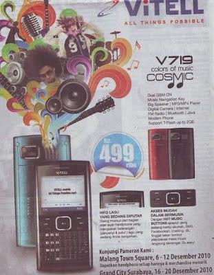 harga Vitell V719