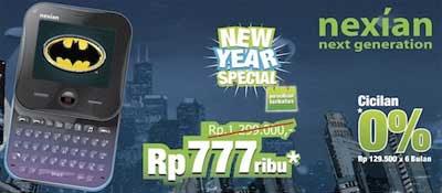 Nexian Batman G777 New Year Special