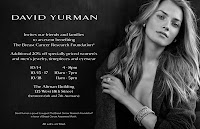 David Yurman Shopping Event to Benefit The Breast Cancer Research Foundation! featured on Shopalicious.com