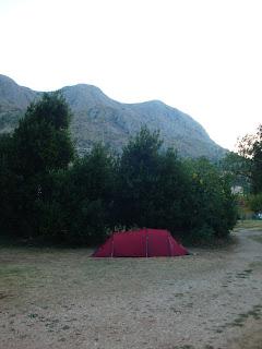 camping near Dubrovnik, camping kate