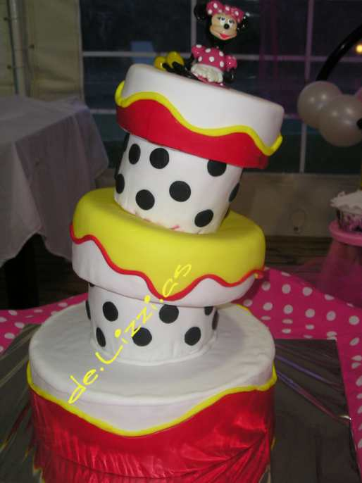 Tortas Inclinadas: Minnie