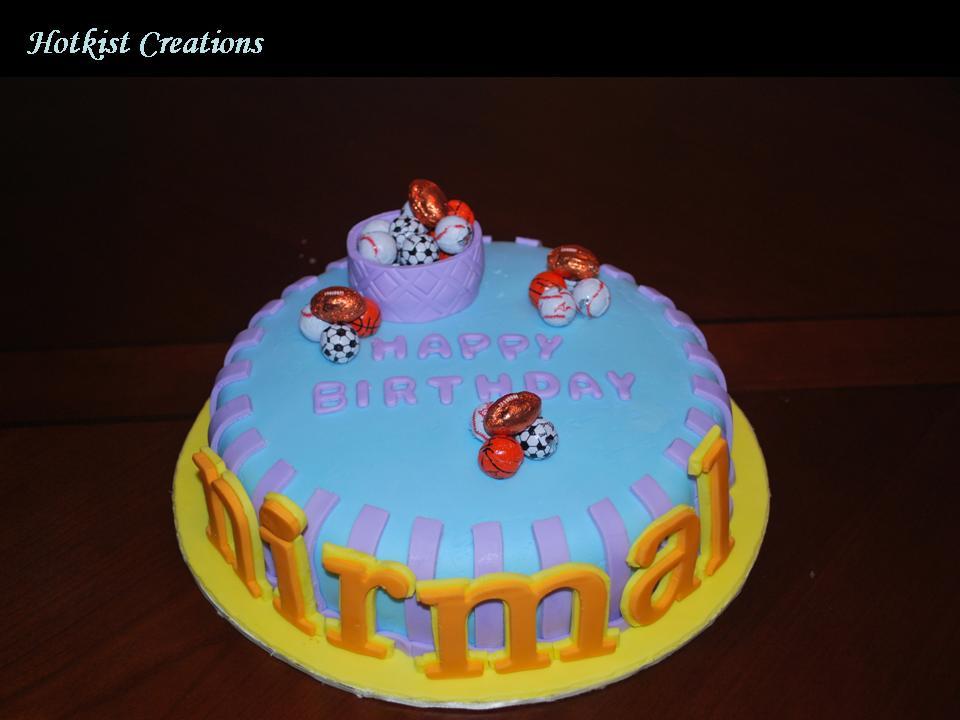 Cakes By Hotkist Happy Birthday Nirmal