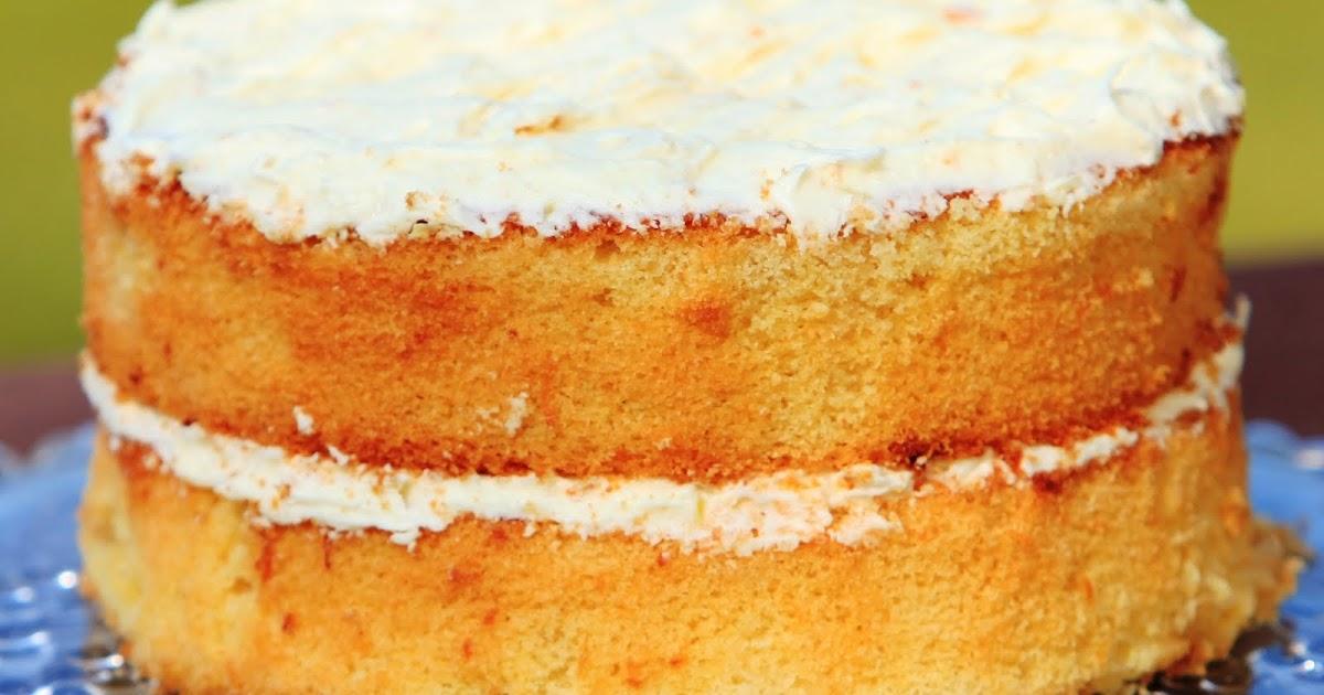 Ultimate Lemon Sponge Cake