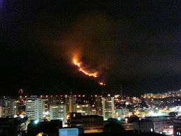 Incendio en El Avila