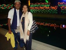 Con Wilfredo de LTP en Altamira