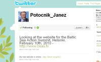 Janez Potočnik's Twitter Page (Photo: Screengrab)