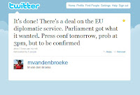 Screenshot of Tweet posted by Marjorie van den Broeke (@mvandenbroeke) on 21st June