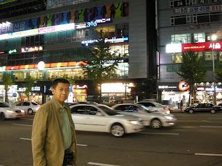 Lalu Lintas Tertib di Suwon