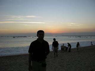 Sunset Jimbaran Beach Bali