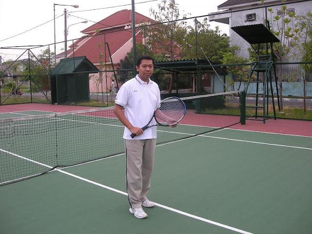 Tenis di Juanda Harapan Permai