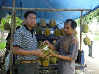Durian Murah di Juanda Surabaya