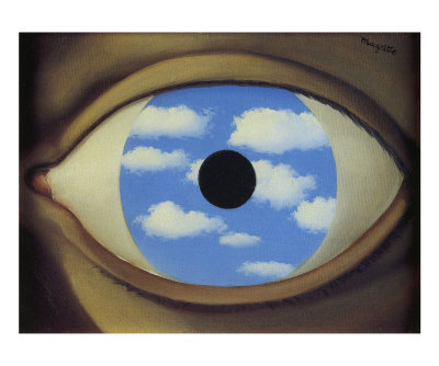 Inspiration ren magritte for Rene magritte le faux miroir