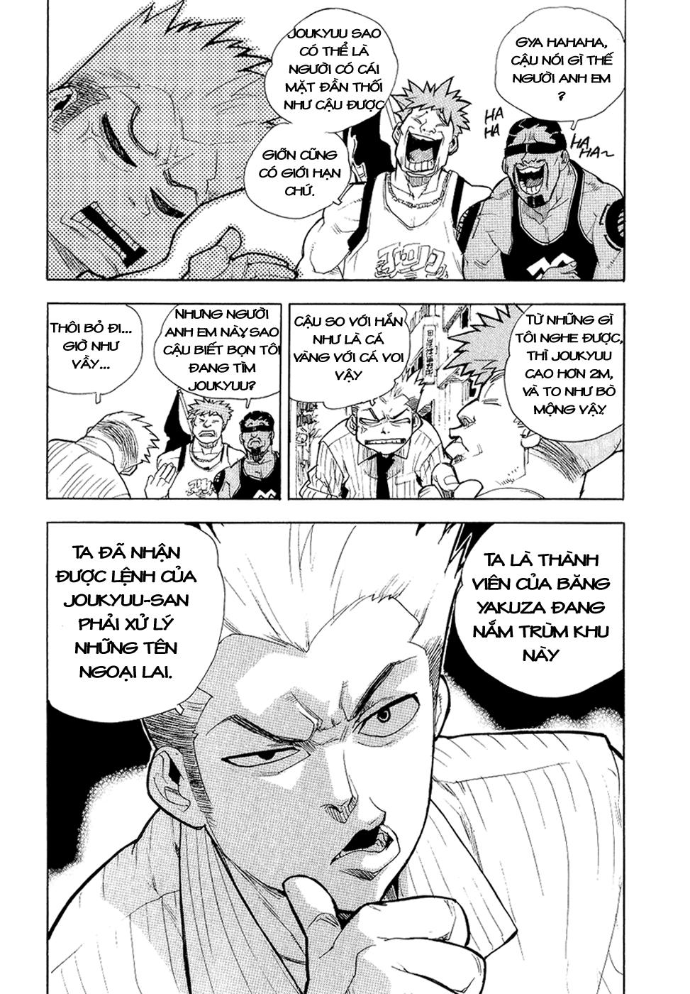 Aiki chap 36 - Trang 11