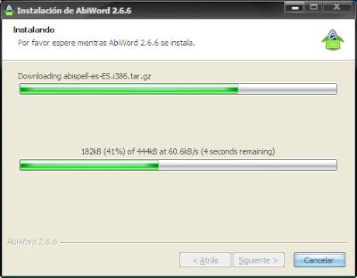 abiword install img