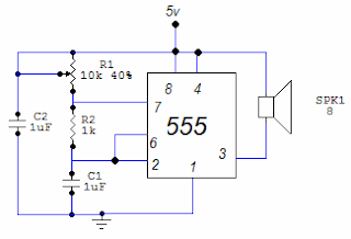 Electronic Circuits For Beginners: Tone generator circuit