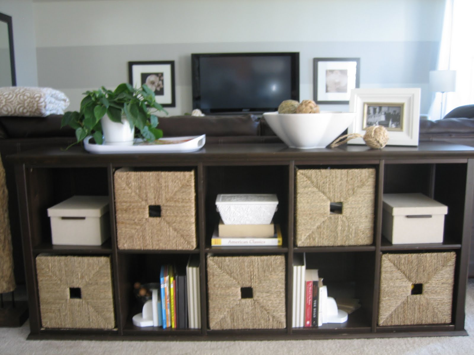 House tweaking for Ikea living room storage ideas