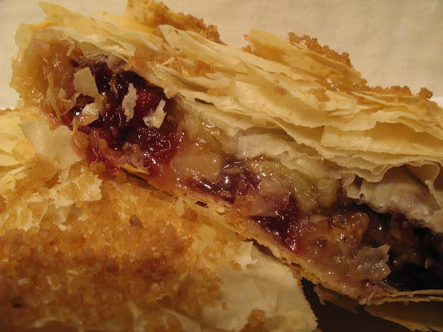 Anna's Table: Apple Cranberry Strudel