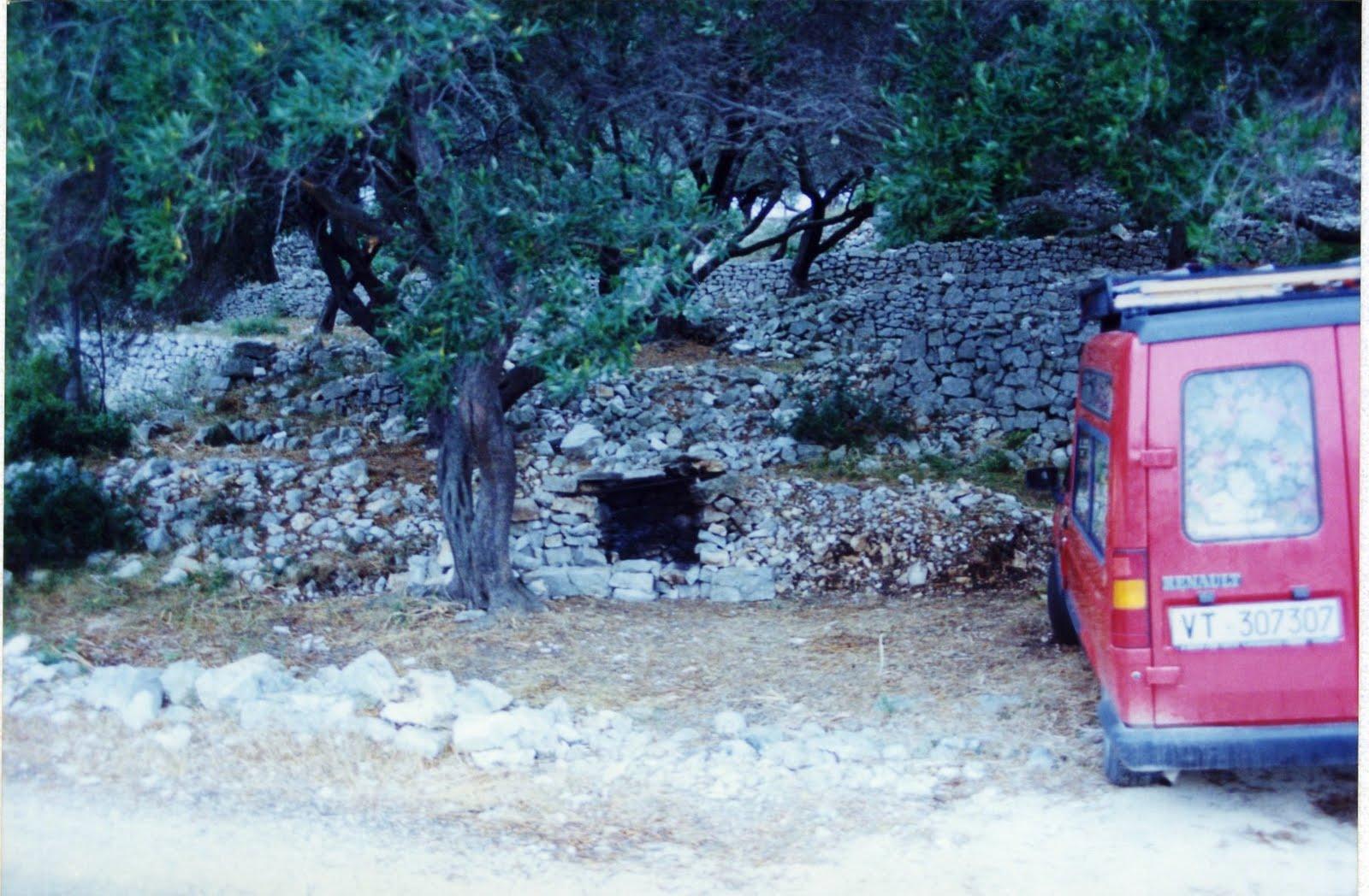 Alfredo romano 3 1992 grecia isola di paxos for Cucinare murena