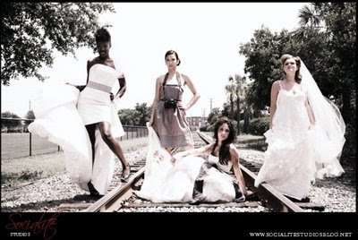 Fashion Photo Shoot on Bellezza Buzz  High Fashion Bridal Shoot