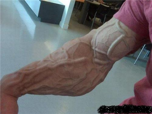 how do i get my veins to pop out