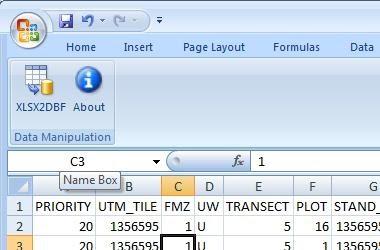 save pdf as excel 2007 file