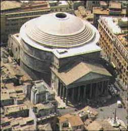 Estudi arte el arte en la historia el pante n for Esterno pantheon