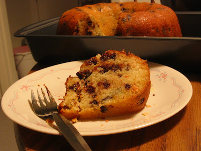 Fresh from the Oven: Friday Treat -Orange Chocolate Chunk Cake