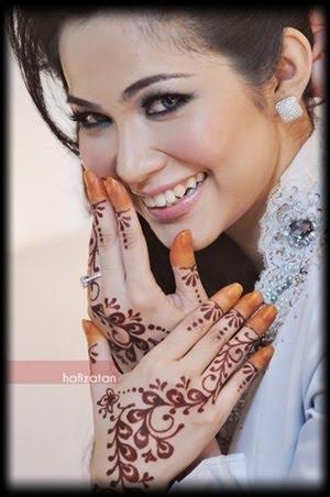 ... Territory [[Personal Blog]]: Nak Corak Inai Gini Time Kahwin Nanti