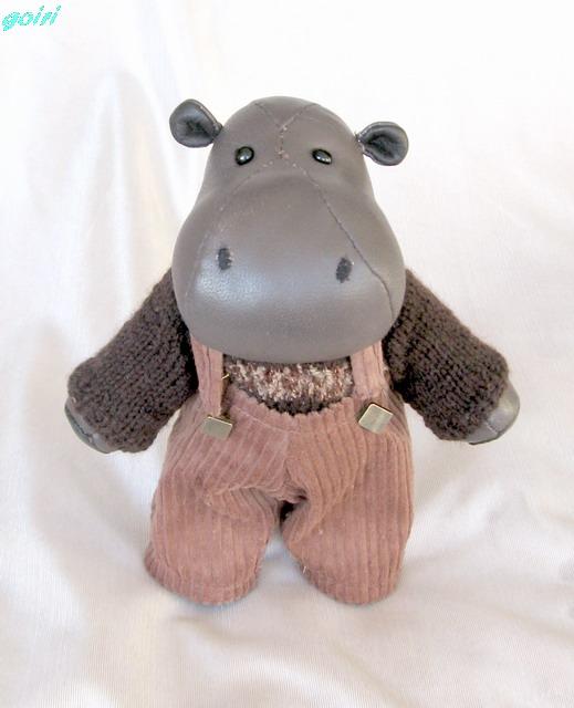 Бегемоты игрушки своими руками