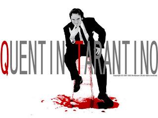 foto del sanfriento Quentin Tarantino