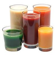 jugo saludable y rejuvenecedor