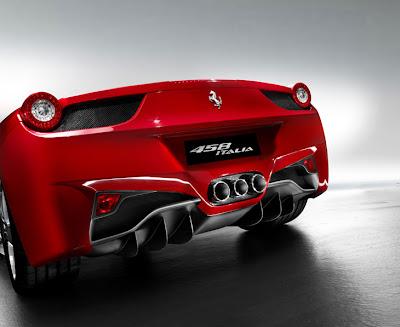 Ferrari 458 Italia atras